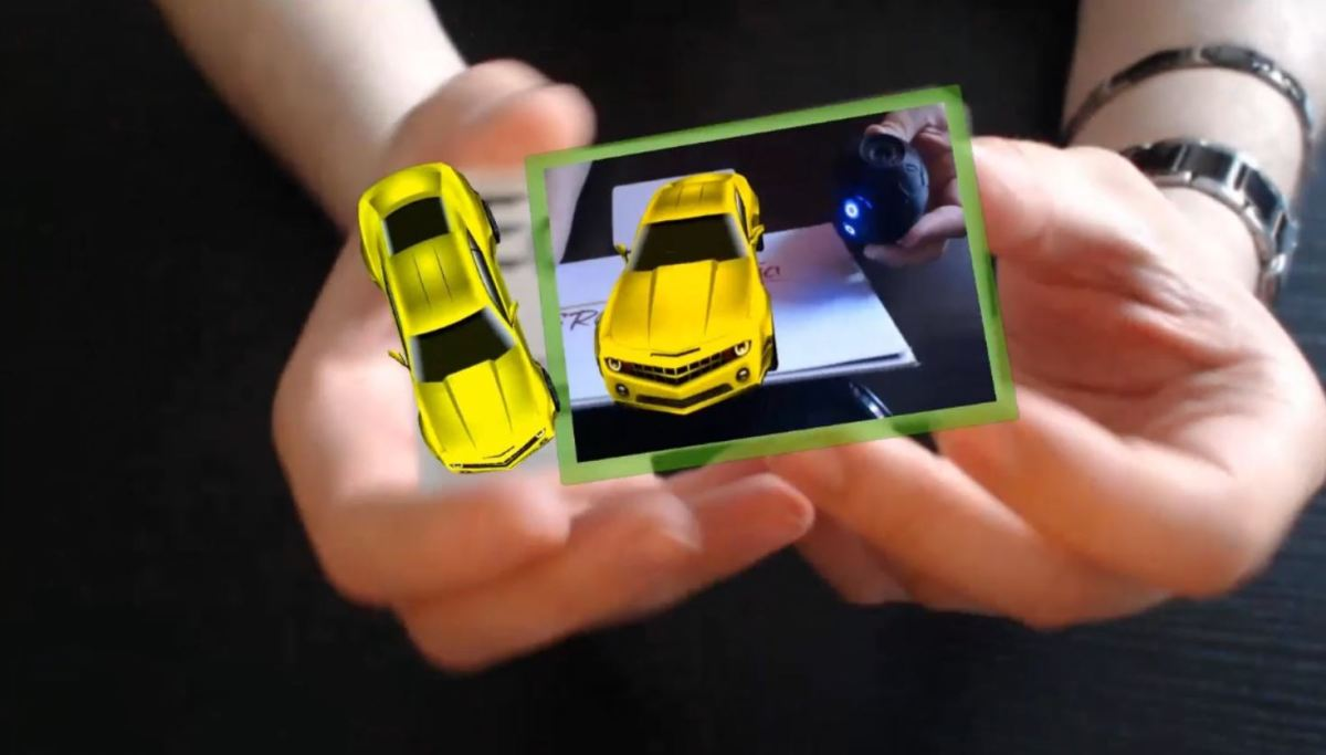 Augmented Reality Tutorial No. 39: Augmented Reality Business Card
