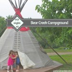 Three Kids, Two Moms, and One Tipi: Our Night in a Tipi at Bear Creek Campground