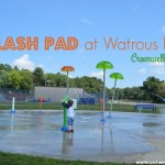 Splash Pad at Watrous Park in Cromwell