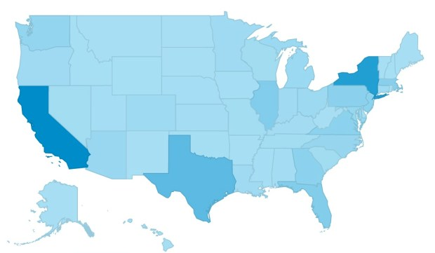 A reader from every state!