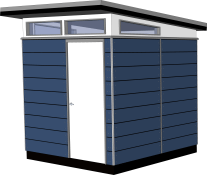 8x8 Lifestyle Series Prefab Outbuilding Kit