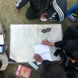 A map-reading session