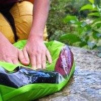 Die kleinste Outdoor-Waschmaschine der Welt: Schrubb ma' mit dem Wash Bag von Scrubba