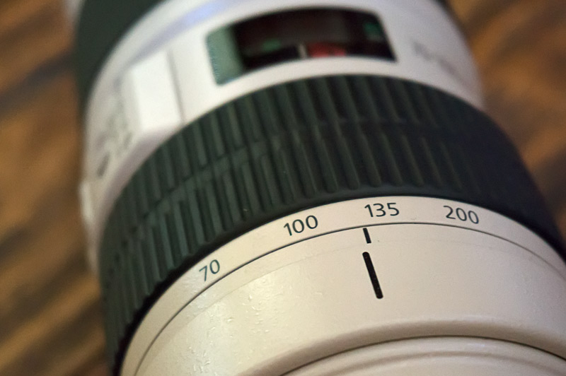 Lens with focal lengths
