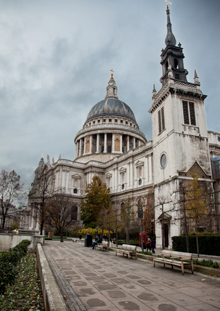 South Side View of St. Paul's Cathedral
