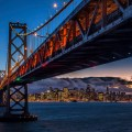 Travel planning : Shot of San Francisco from Treasure Island