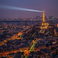 HDR example - Paris skyline