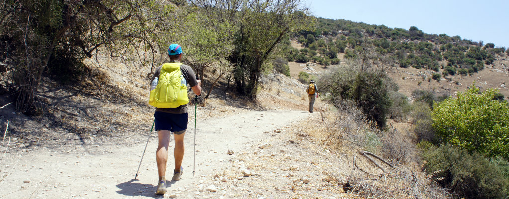 Back to the keyboard and a look at hiking in Israel