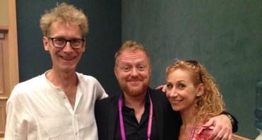 Ted, Bill Abbott & Marion