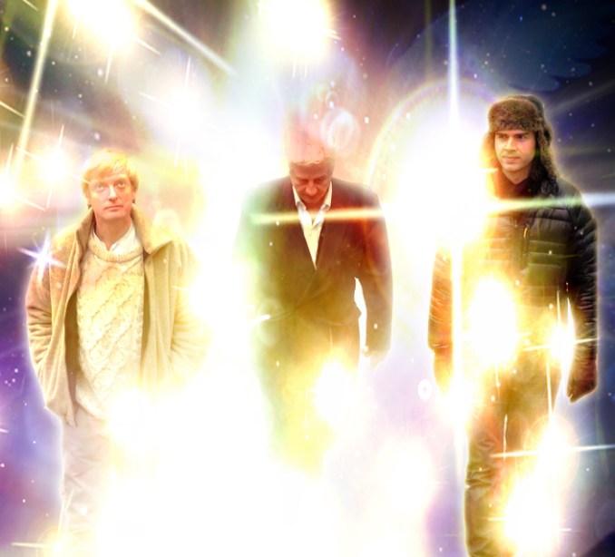 Light Warriors (L-R): Tom Lishman, Stuart Wilde, Richard Tyler