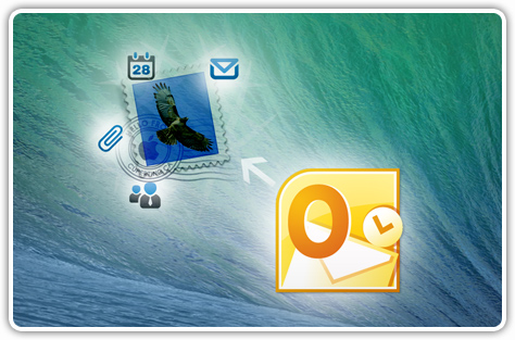Quickly Import or Export MS Outlook to Mac mail
