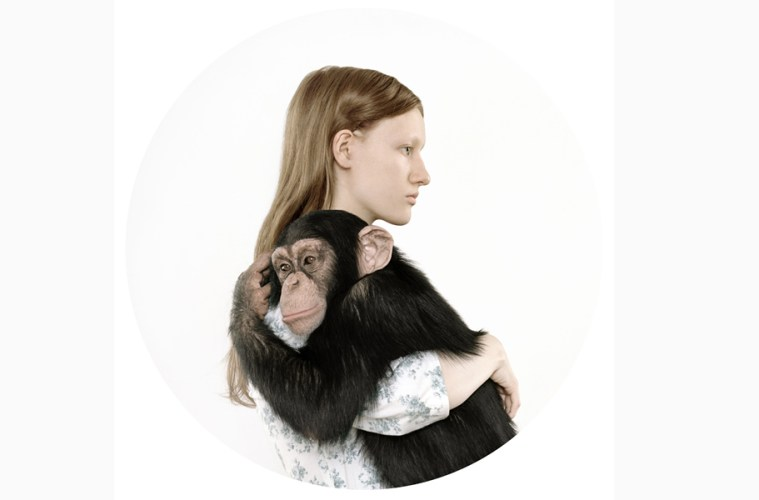 monket and girl