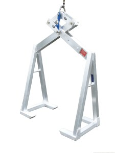 P1000966 - crane attachments, crane pallet forks, pallet lifter, pallet forks, aluminum