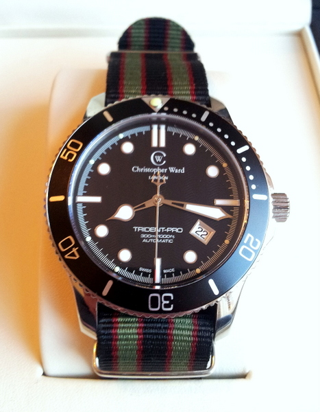 1 20120223 080239 002 Christopher Ward C60 Trident Bond Review