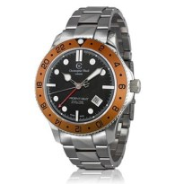 C60 GMT with organe bezel