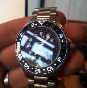 20120820 190602 297x300 For Sale: Steinhart Forty Four GMT Black