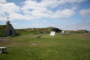 Viking Village At L'Anse aux Meadows.