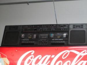 Duel Cassette Deck Boom Box
