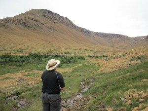David On The Tablelands Trail In Gros Morne National Park