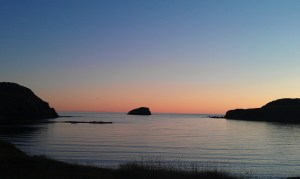 The Sun Setting In Twillingate
