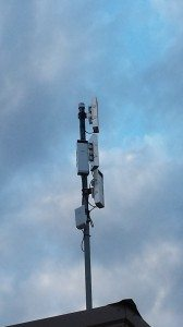 The Wifi Antenna Array On The Main Office