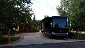 Our Site At The Tiger Run RV Resort In Breckenridge, CO