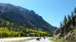 Driving Through Glenwood Canyon, CO