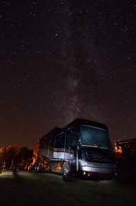 Our Coach And The Milky Way