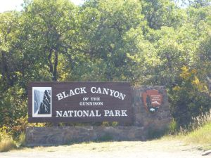 Black Canyon of the Gunnison National Park Near Montrose, Colorado