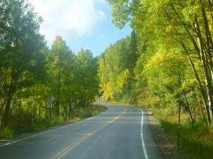 Driving Through The San Juan Mountains