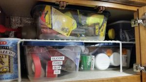 Glues, Tapes, Fuses, Etc