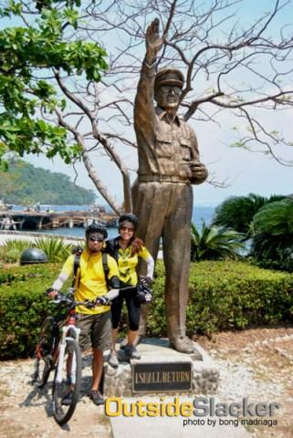 McArthur's statue in Corregidor