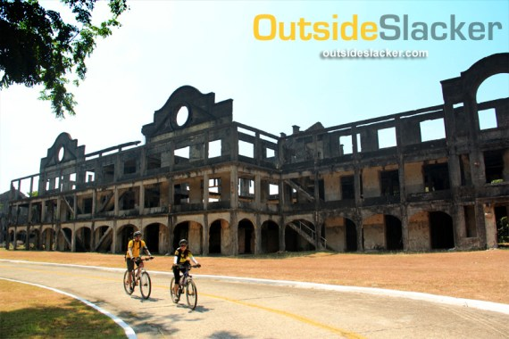 Bikers in Corregidor, Mountain Biking in the Philippines