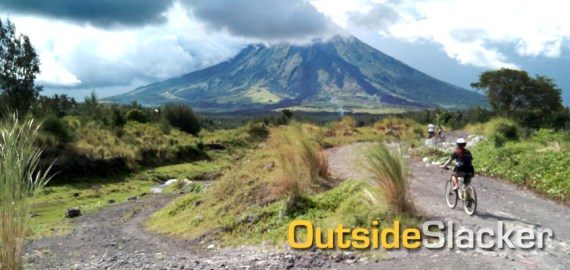 Biking at Mayon, Mountain Biking in the Philippines