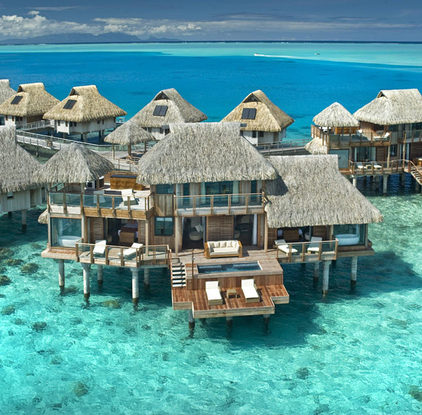5 overwater Bungalows around the world : OutsideSuburbia bucket list