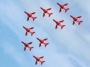 Red Arrows Eastbourne Airshow 2015