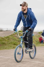 Old_School_BMX at Gosport BMX track 2015