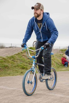 Old_School_BMX at Gosport BMX track 2015
