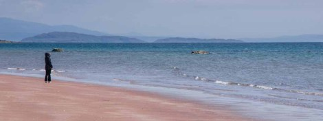 Beach on the Applecross peninsular