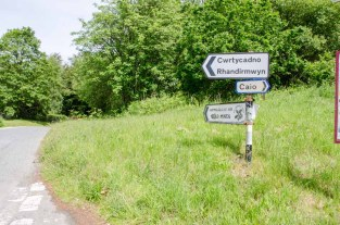 This way to the Dolaucothi Gold Mines!!!!