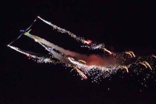 Aerosparx display at Daedalus Airfield, Lee on the Solent