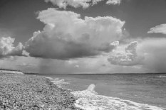 Large clouds at Hill Head