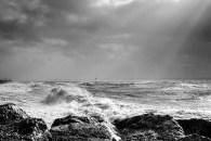 Storm Imogen at Lee on the Solent