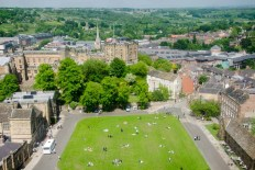 View from the belltower, Durham Cathedral