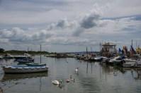 Keyhaven harbour