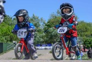 Strider balance bike racing at Gosport