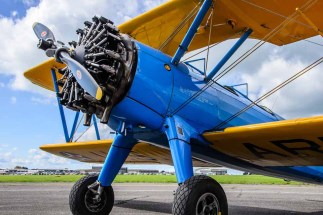Boeing-Stearman Solent Airport 100 Years Event