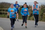 Netley Abbey runners in the Stubbington 10k around Titchfield Haven