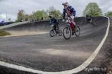 Exit from berm number 2 at Gosport BMX Clulbs national standard track