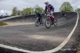 Exit from berm number 2 at Gosport BMX Clulbs national standard track
